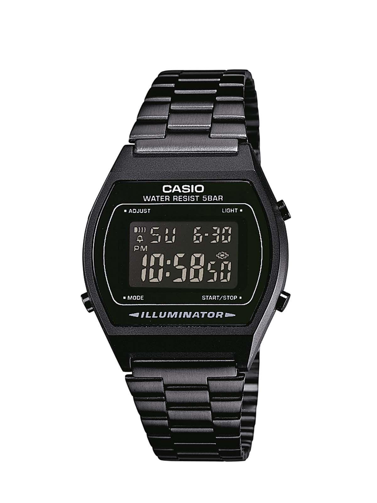 79670cb3d0e9 Casio B640WB-1BEF - Reloj analógico de cuarzo unisex con correa de acero  inoxidable