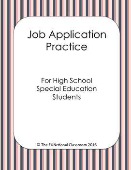 special skills job app