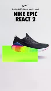 Chaise longue importante quemado  The new Epic React Flyknit 2 is here. Get instant GO for your springiest,  bounciest, most comfortable miles ye… [Video] | Motion design video, Shoe  advertising, Shoe poster