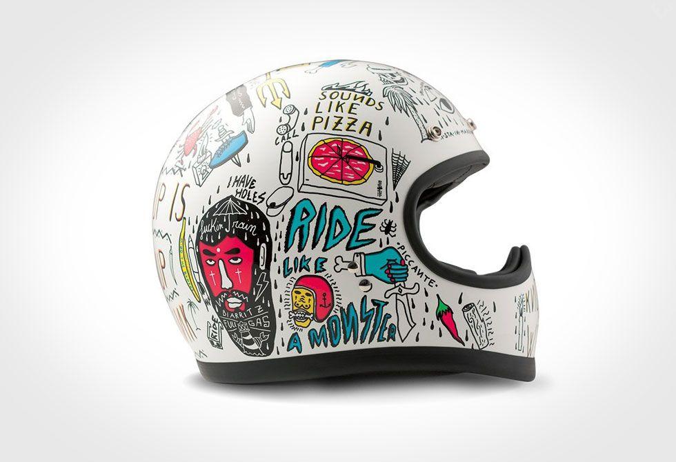 Dmd Helmets Vintage Helmet Motorcycle Helmet Design Motorbike Helmet