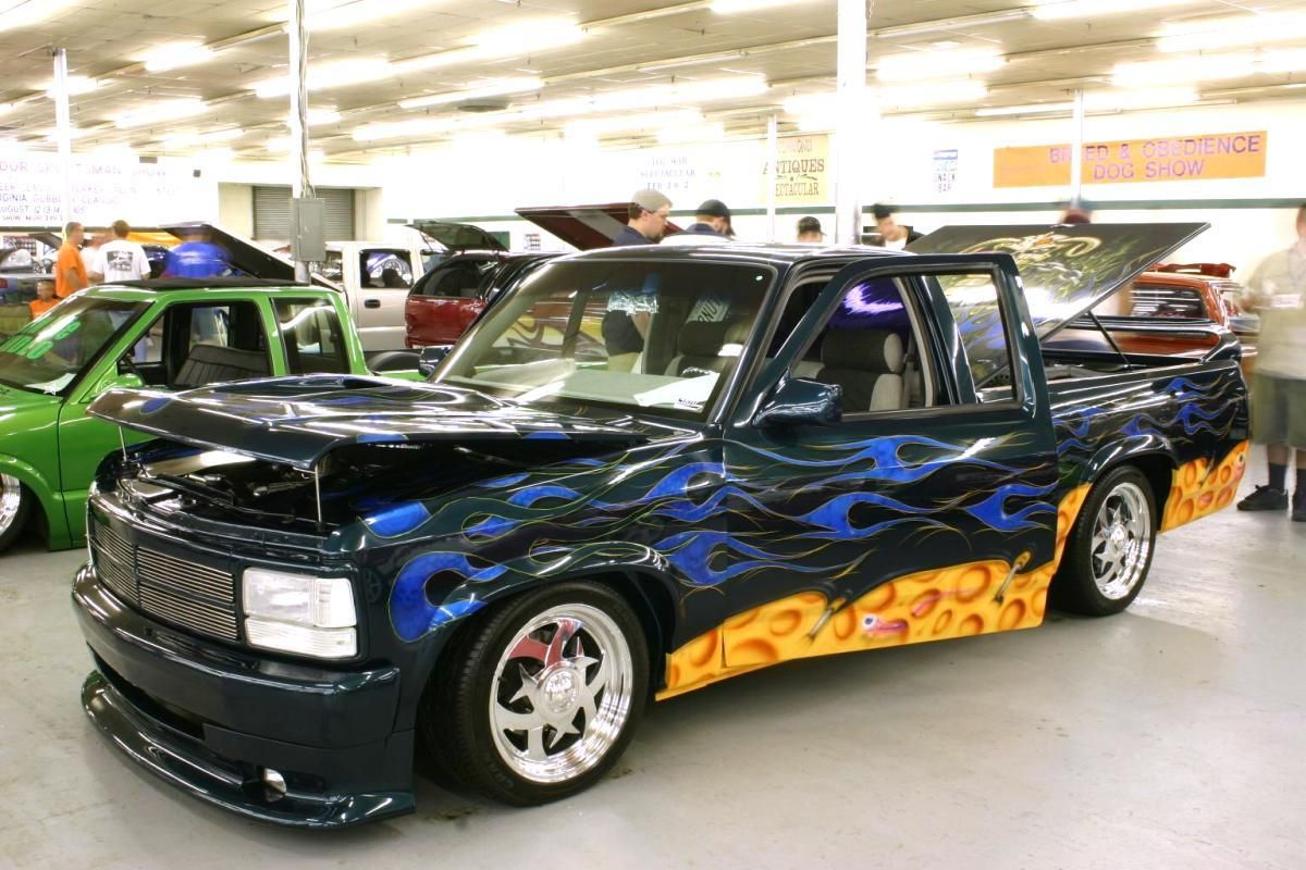 Pimped out trucks tricked out dodge dakota truck
