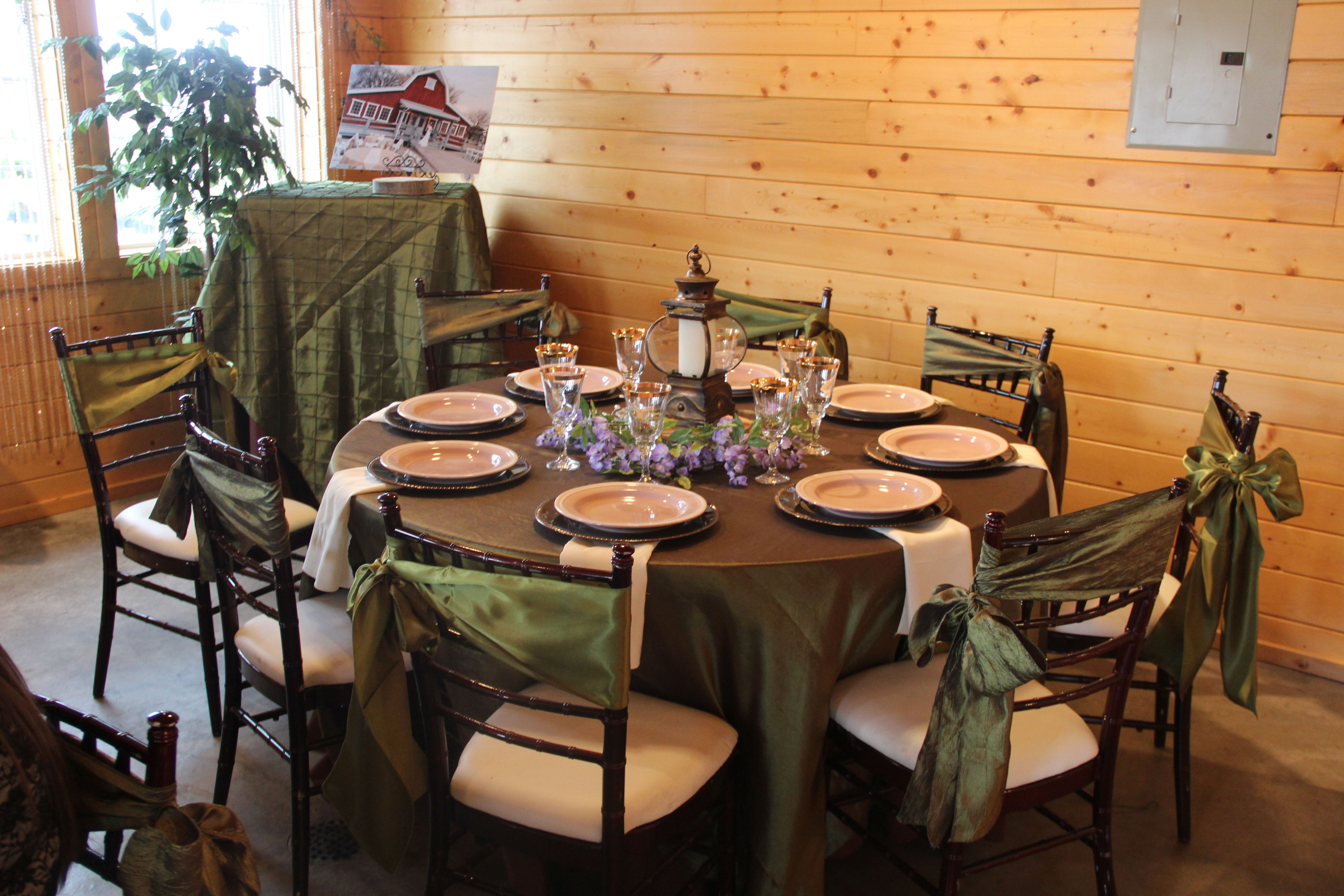 Warm Chocolate Tones With Willow Green Accentschiavari Chairs Inspiration Willow Dining Room Menu Inspiration Design