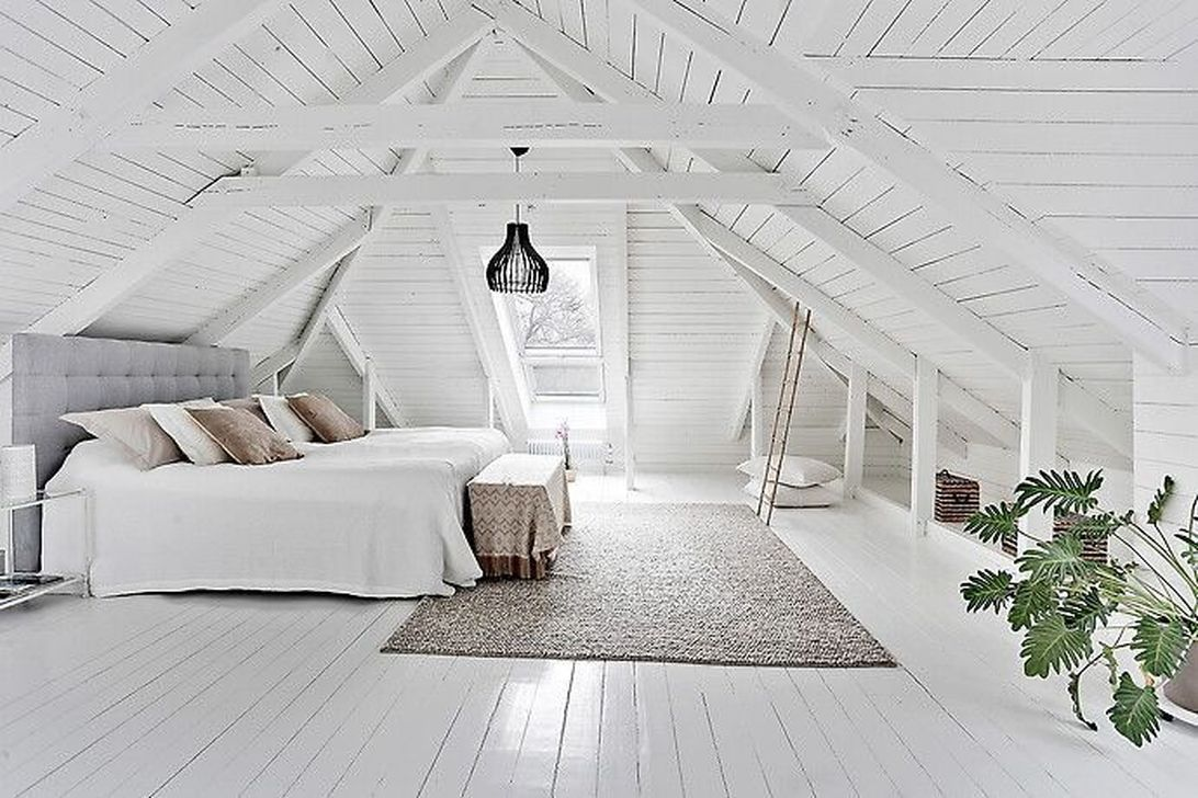 34 The Best Attic Bedroom Ideas To Maximize Your Home In 2020 Attic Rooms Attic Bedroom Small Attic Bedroom Designs