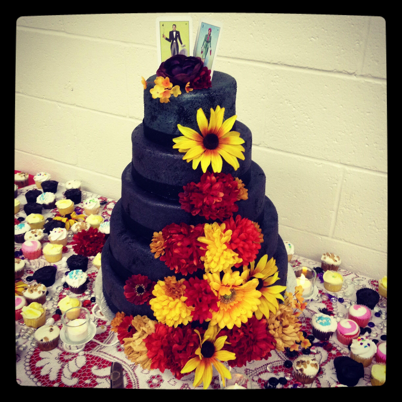 Day of the Dead wedding cake | cake! | Pinterest | Wedding cake and Cake