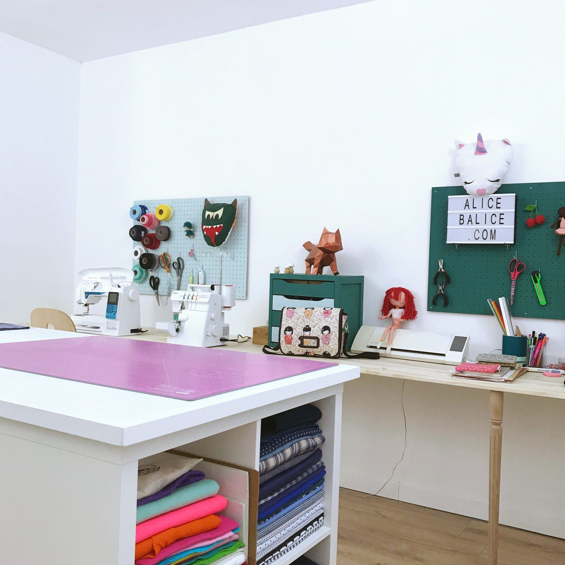 Avoir Un Atelier Cr Atif (Une Craft Room Comme Disent