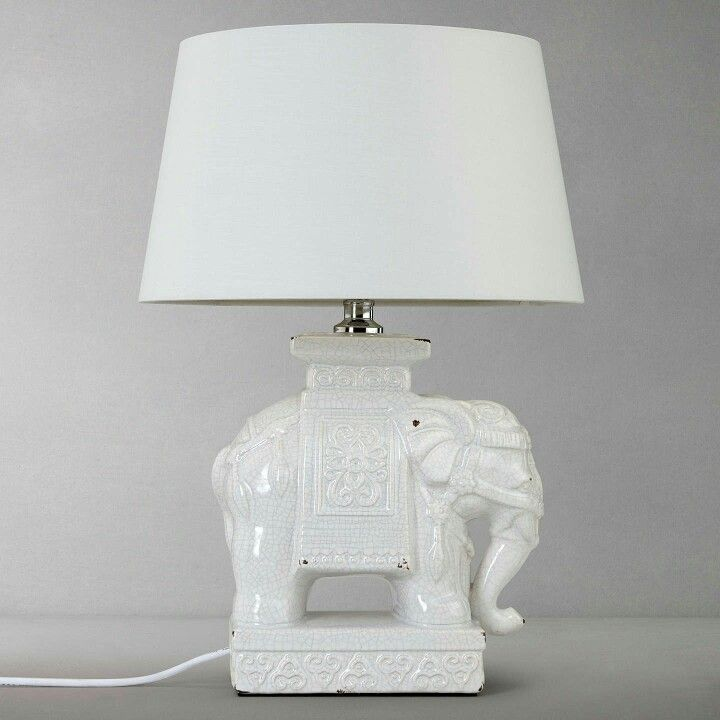 Pin by bec t on Living room | Elephant lamp base, Elephant ...