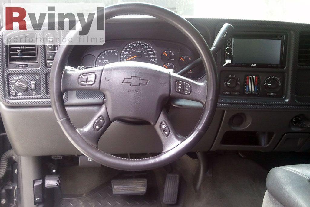 2003 Chevy Silverado Dash Kit Carbon Fiber