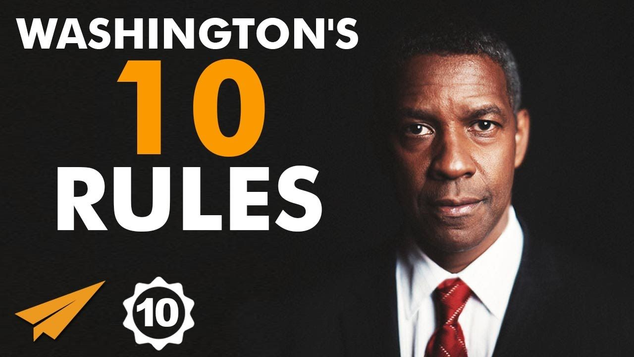 Denzel Washington Quotes Denzel Washington's Top 10 Rules For Success  Inspiration