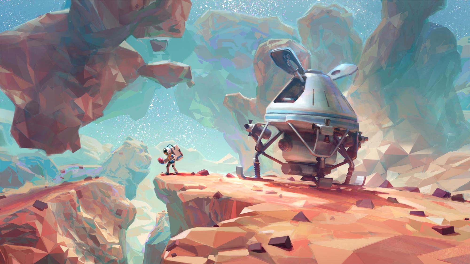 Kartinki Po Zaprosu Astroneer Game Concept Art Environment Concept Art Art