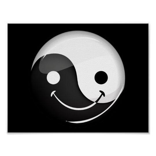Zeichen emoji yang yin ☯ Yin