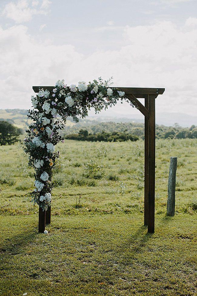 Utterly Dreamy Formal Rustic Chic Byron View Farm Wedding