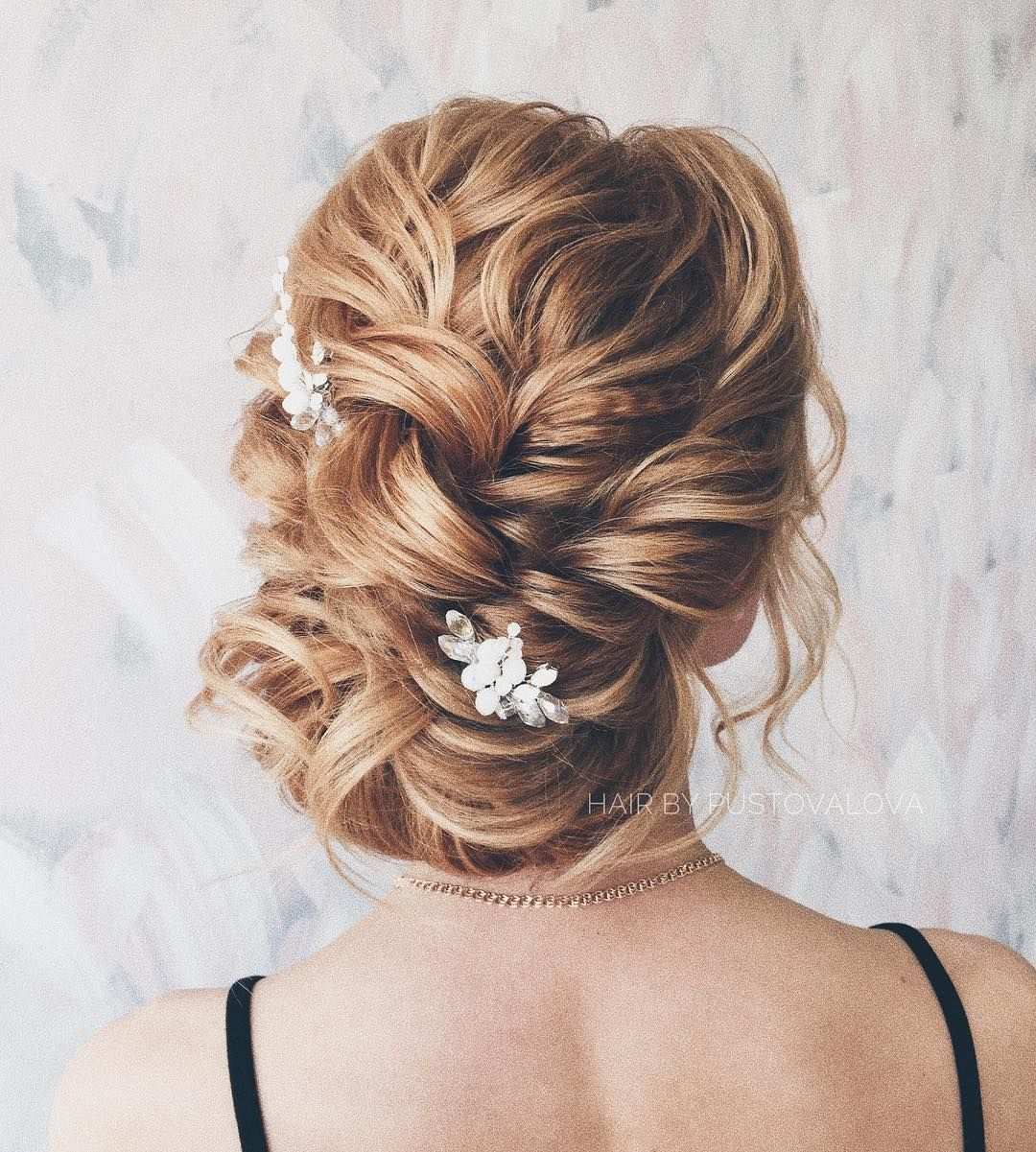 beautiful updo hairstyle to inspire your big day