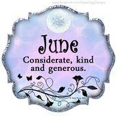 Mes de nacimiento   junio #birthdaymonthmeme