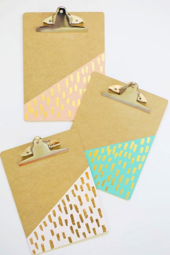 Give those plain old office supplies a gorgeous makeover