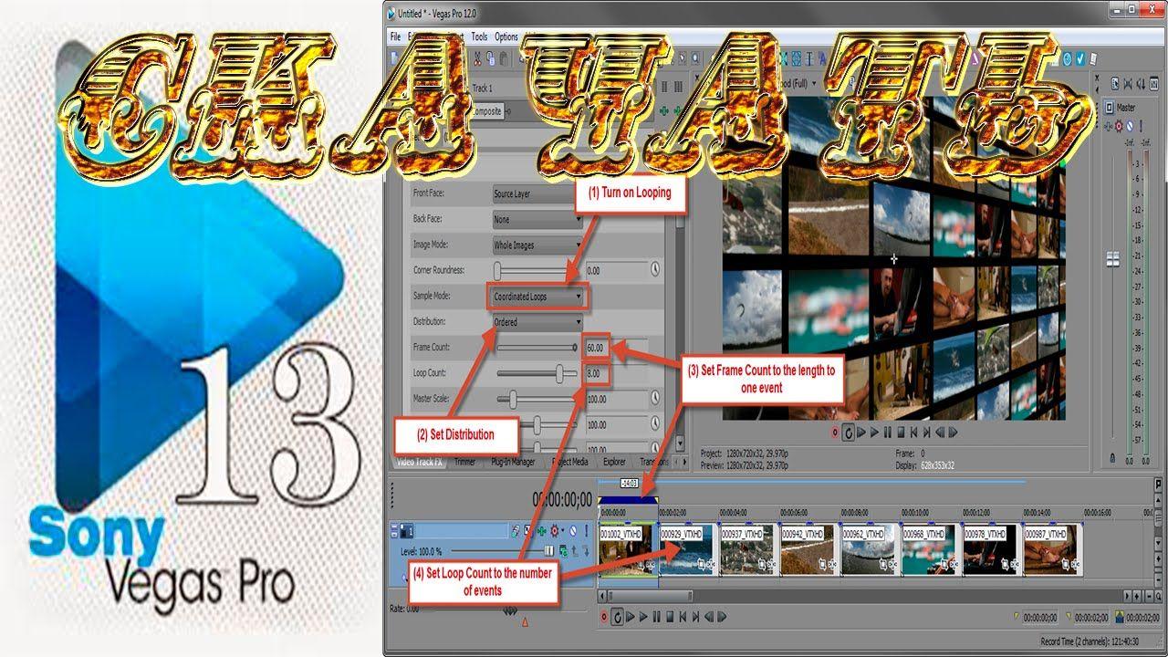 Sony Vegas Pro программа для создания видео! Скачать