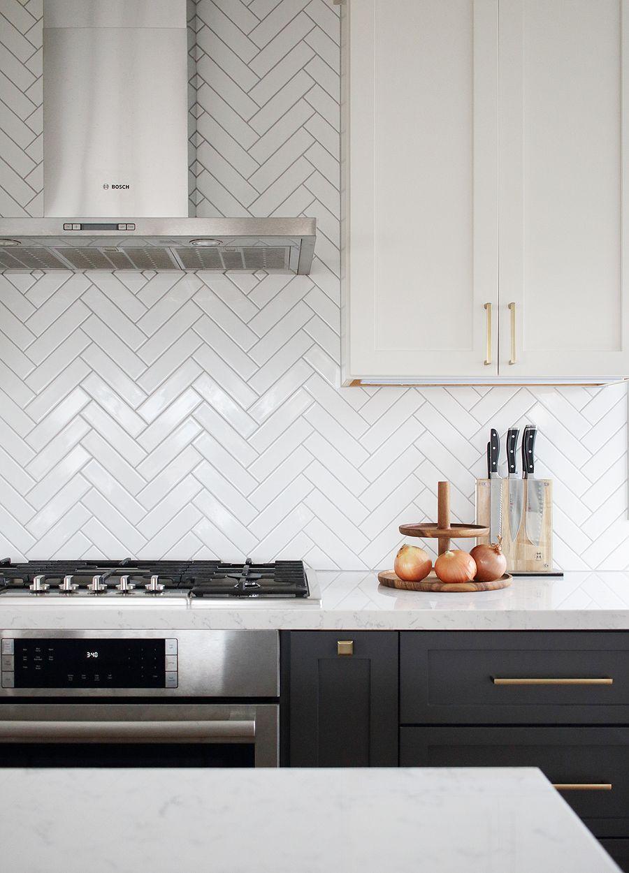 A Small Galley Kitchen In The California East Bay Transforms Into A Beautiful Open Herringbone Tiles Kitchen Kitchen Backsplash Designs Kitchen Transformation