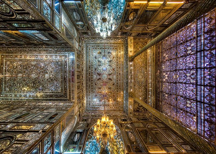 Mohammad Reza Domiri Ganji has an affinity for capturing the breathtaking nature of Iran's grand architecture. His series of photographs showcase the mesmerizing details built into the ceilings of the nation's beautiful palaces, historic houses, cathedrals, bazaars, and mosques.