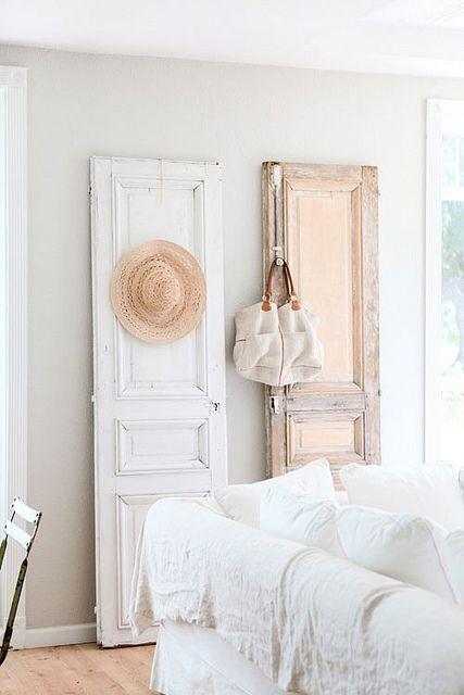 Ideal para colgar sombreros y bolsos puerta door brode for Restauracion de puertas antiguas