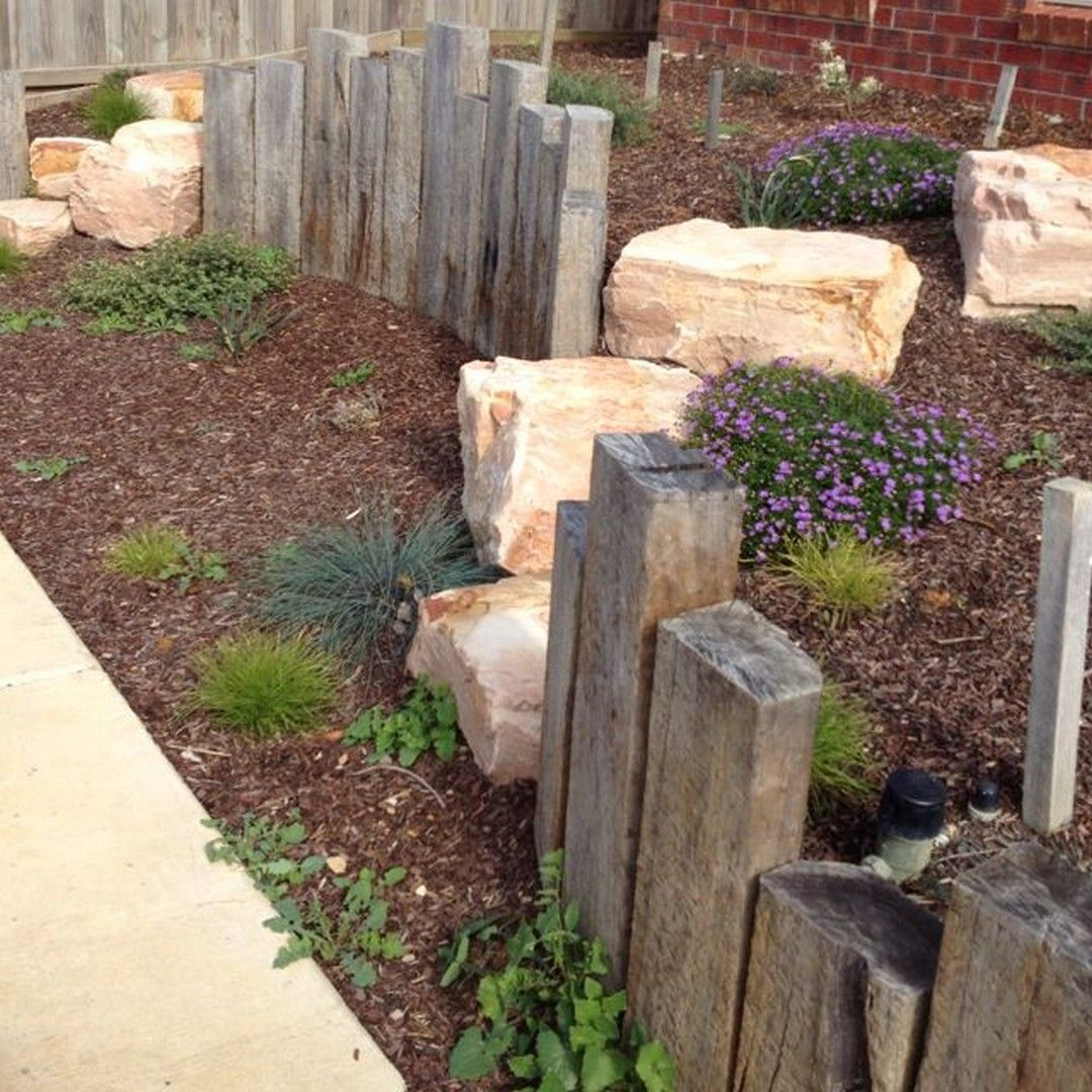 50+ Crazy Front Yard Retaining Wall Landscaping