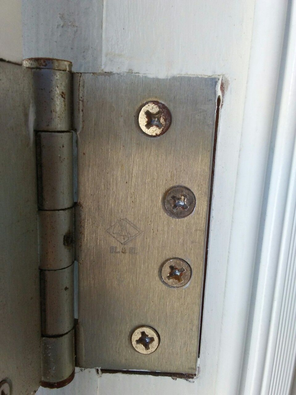 Exterior hinge pin replacement for locking pin | all lady