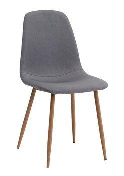5a85467aa4639 Jedálenská stolička JONSTRUP sivá/dub | doplnky do domu | Nábytok