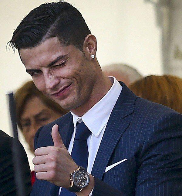 Cristiano Ronaldo y sus cortes de pelo Moda fútbol 2016 Hola - corte de cristiano ronaldo