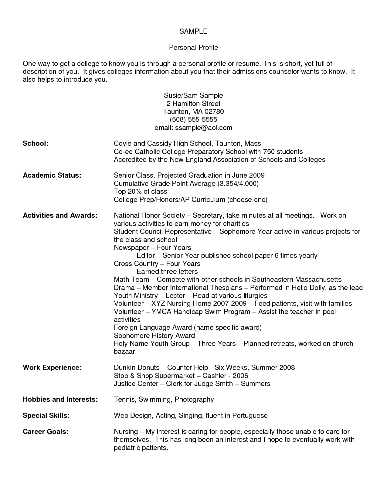 resume examples for grocery store cashier
