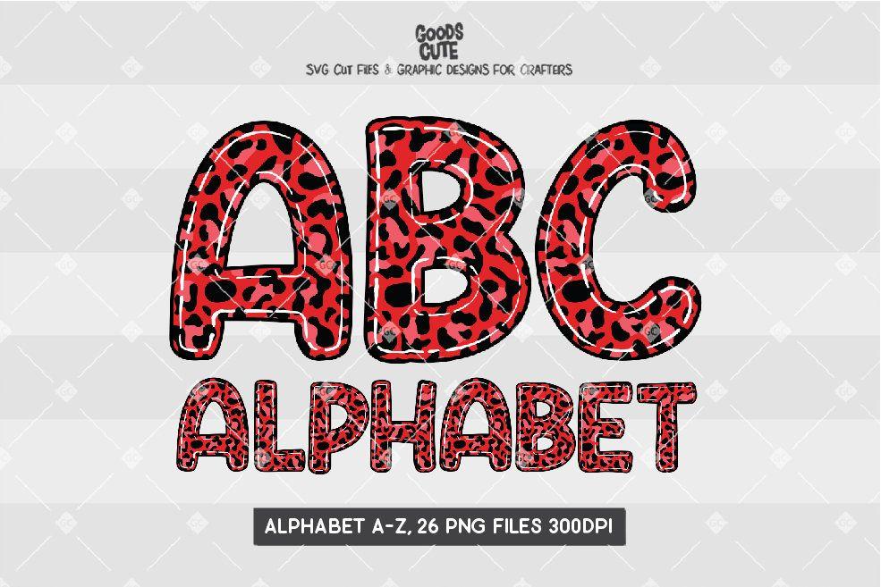 Red Leopard Skin Doodle Alphabet Transparent Png File Etsy In 2021 Doodle Alphabet Red Leopard Illustration Design