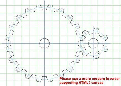 Wood gear template generator | Jakes project | Pinterest ...
