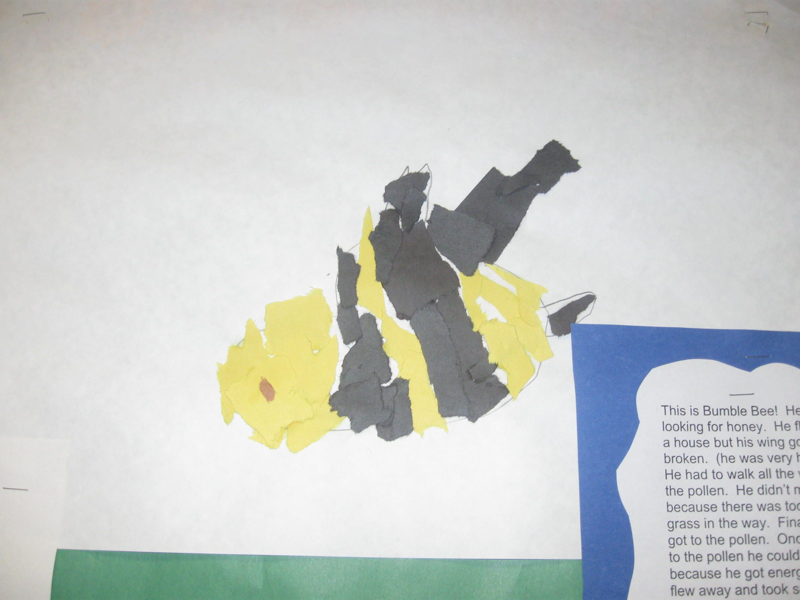 Eric Carle Project With Pieces Of Paper