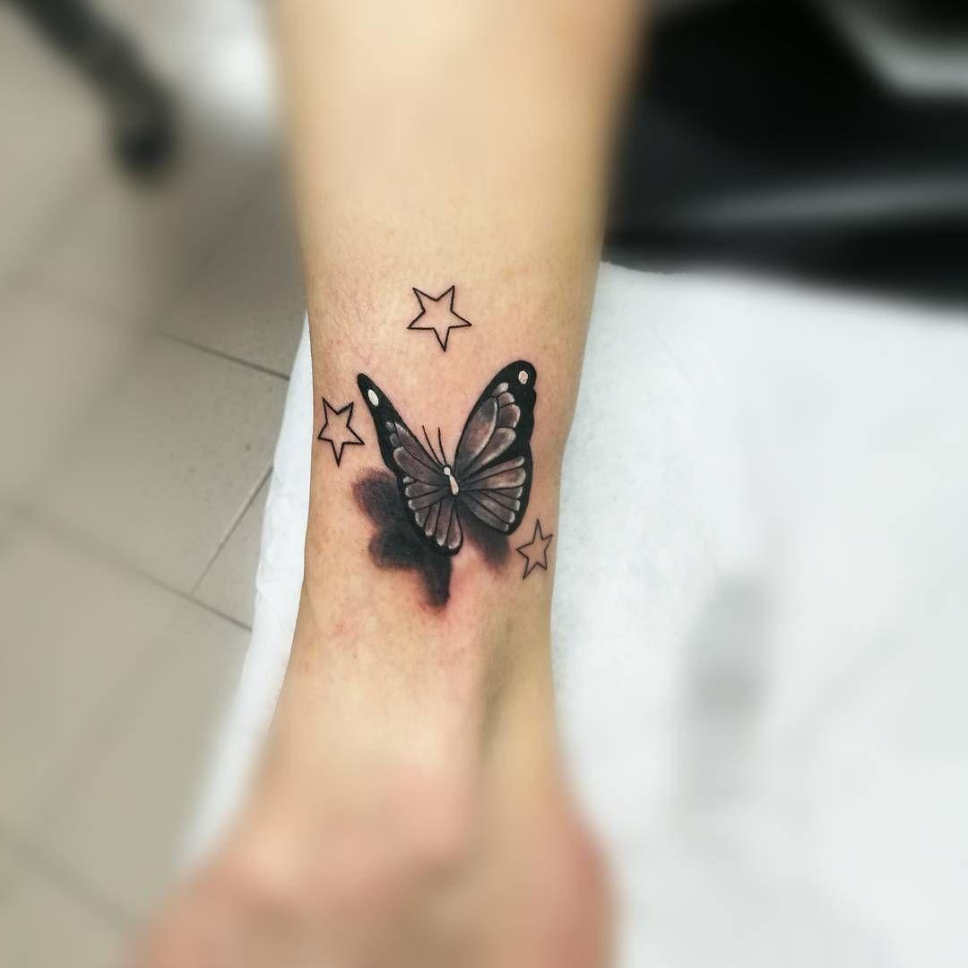 Mariposa y Estrellas Pinterest Estrella Mariposas y Lindo
