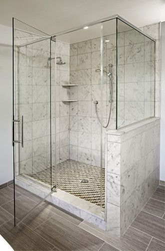 Contemporary Eclectic Master Bath Remodel Dresher Pa
