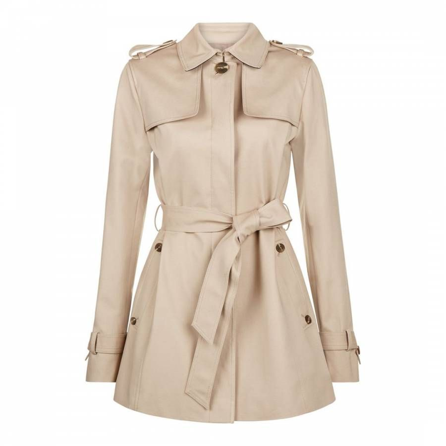da0ef84a556 Hobbs London Stone Selma Mac in 2019 | Products | Classic trench ...