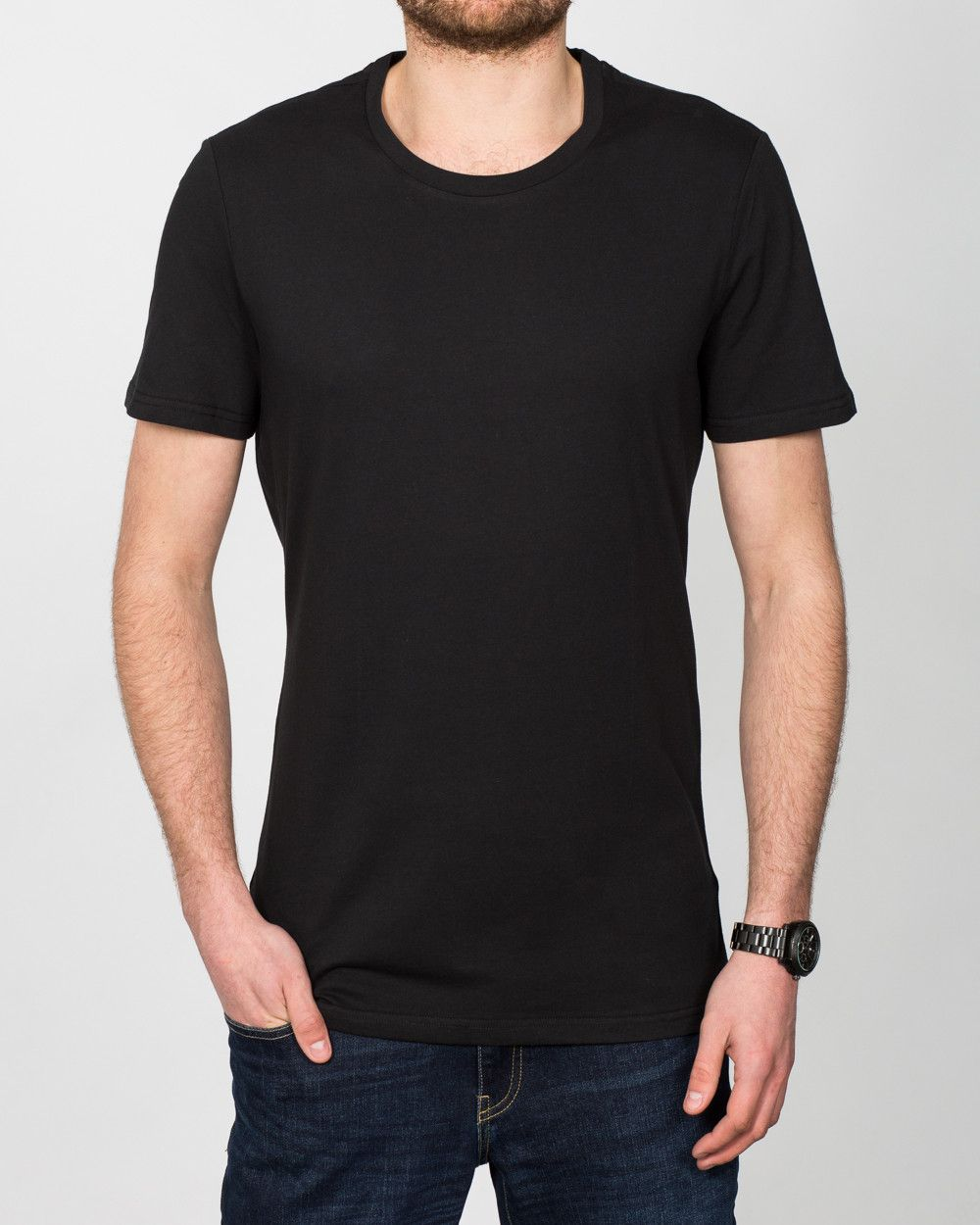 01d4848fde2c 2t Tall T-Shirt (black) | Extra Long Tall Mens Clothing | Suits | Tall Mens  Jeans | Shirts | Size 13-18 Shoes #tallmen #fashion