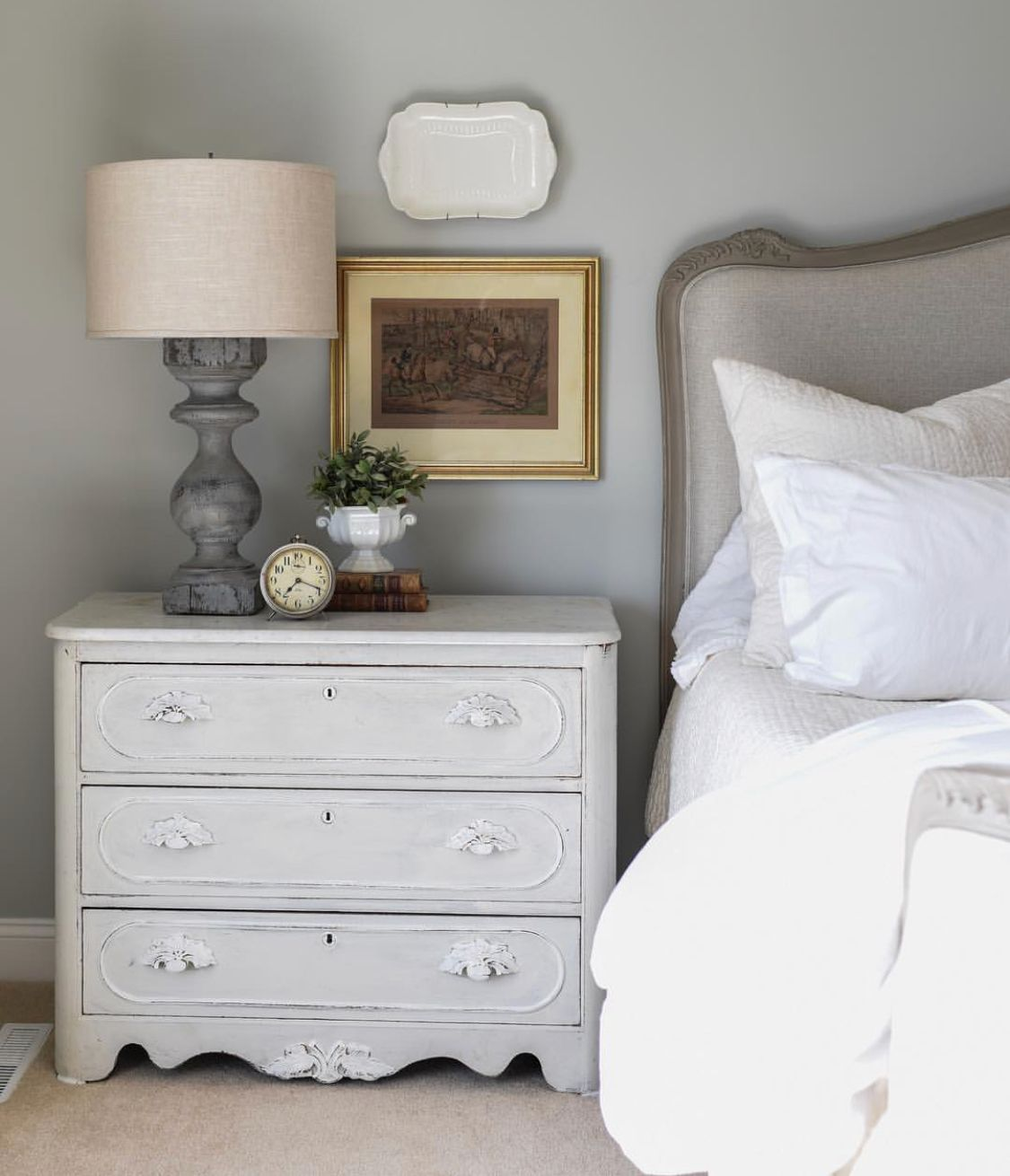 By miss mustard seed guest room bed home decor mustard
