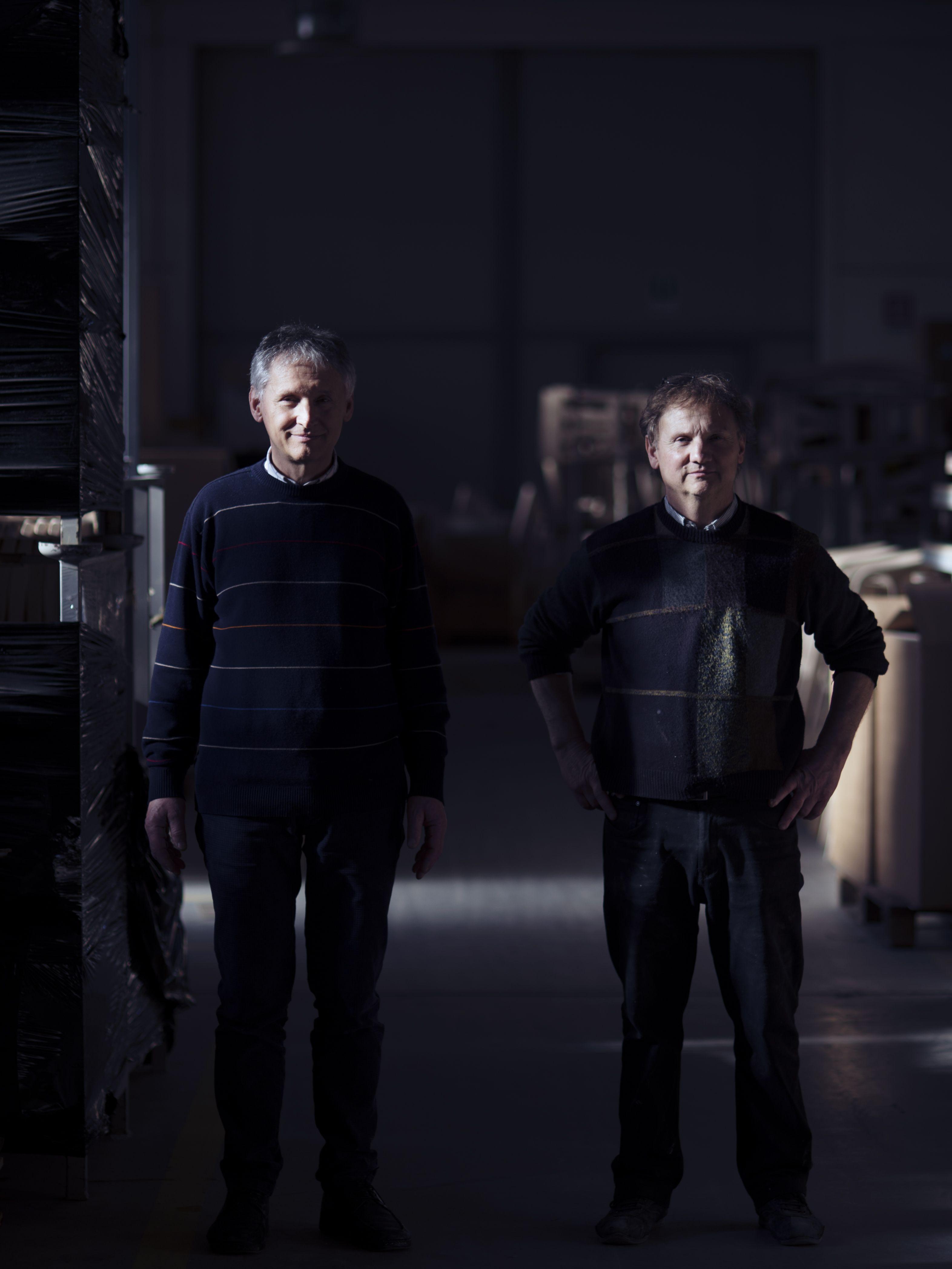 Nevio and Fabiano Mattiazzi.