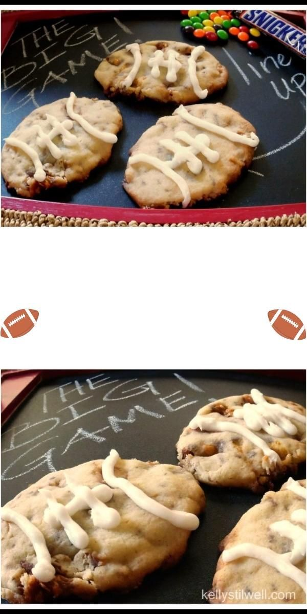 Fun Football Cookies