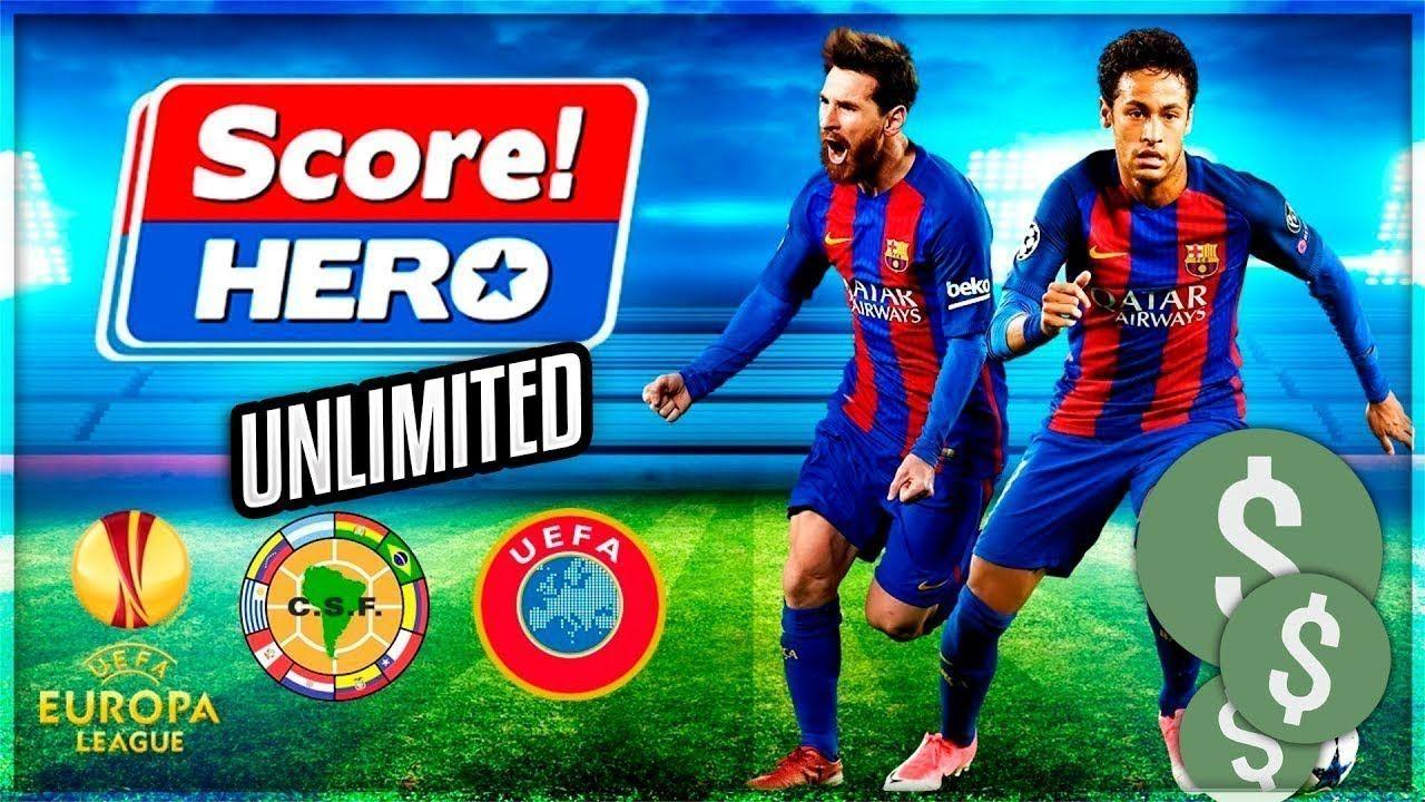 🔴 Score! Hero v2.21 Apk Mod Unlimited Money/Energy [SEM