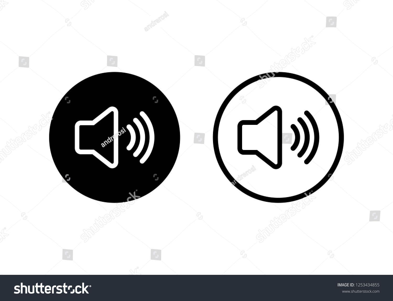 Speaker Icon Vector Volume Icon Loudspeaker Icon Vector Sponsored Affiliate Icon Speaker Vector Loudspeaker Logo Templates Icon Stock Vector