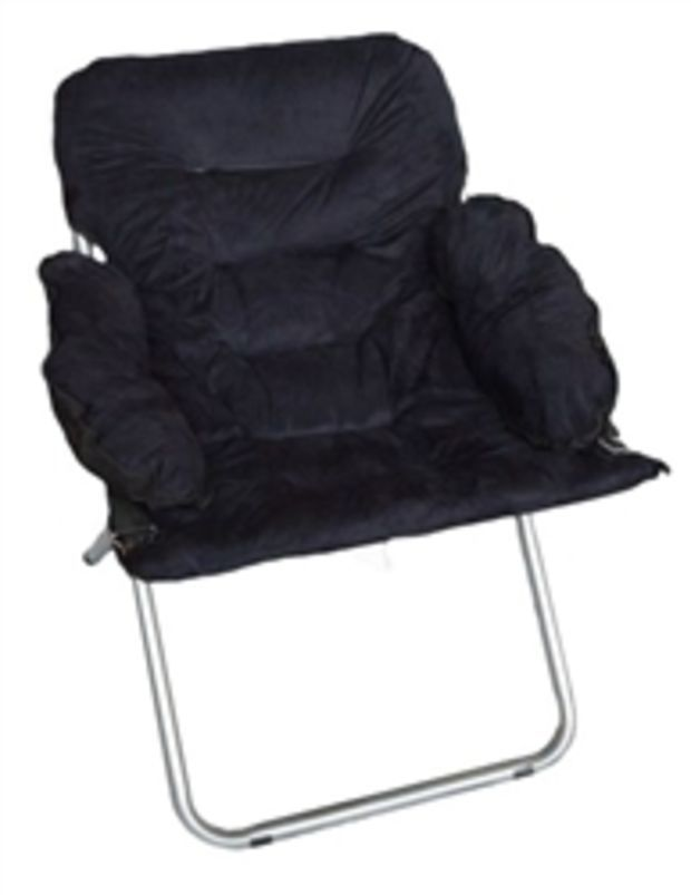 College Club Dorm Chair   Plush U0026 Extra Tall   Black Dorm Room Furniture  College Stuff Soft Comfy Seating
