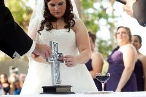 Unity Cross Wedding Ceremony Bringing A Christian Element To Your