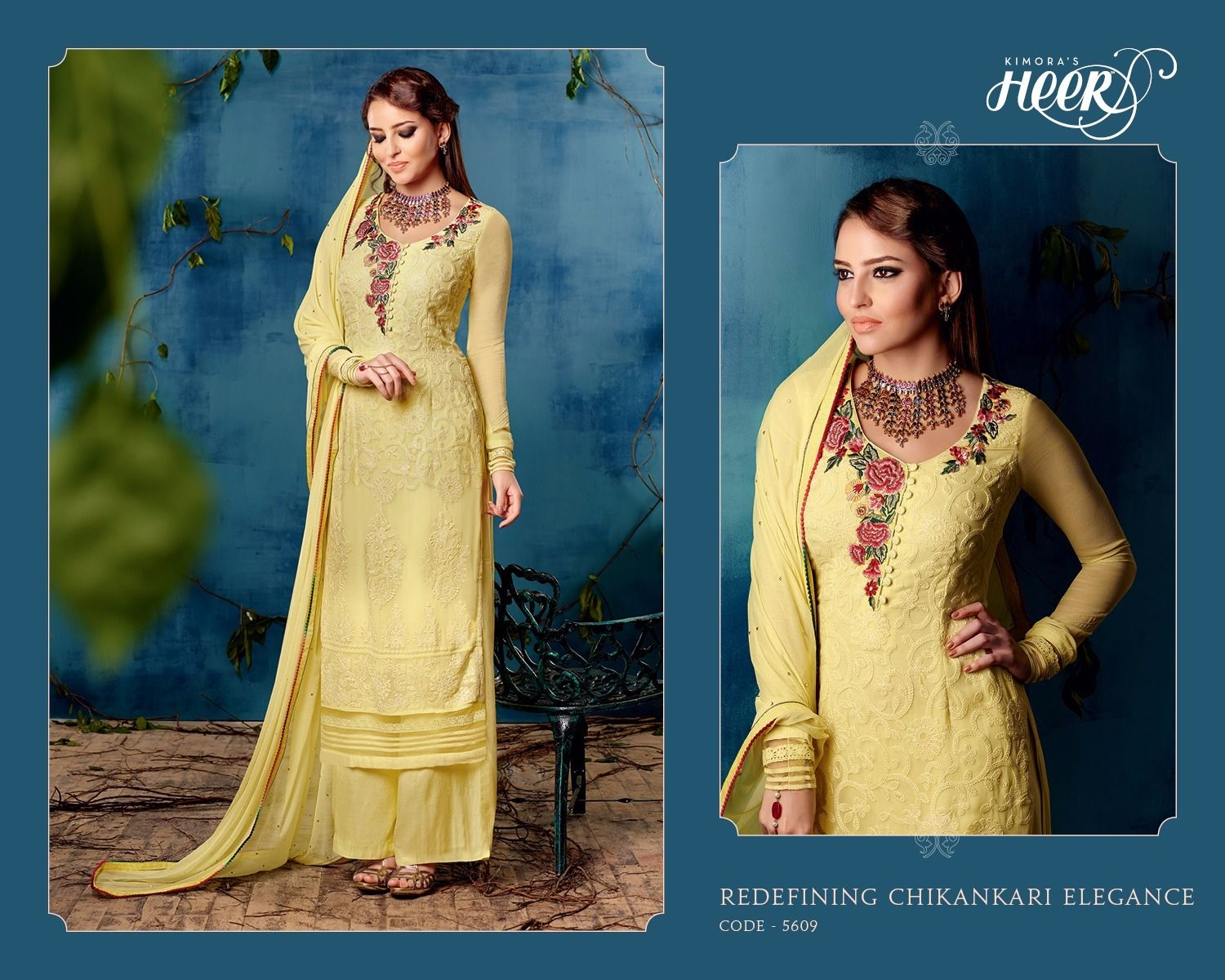 LATEST HEER EID COLLECTION ! SEMI STITCHED PARTY WEAR SUITS NOW AT ...