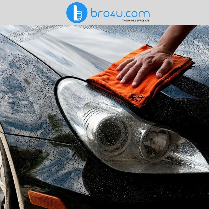 Car wash at Bro4u is the most convenient way to get your