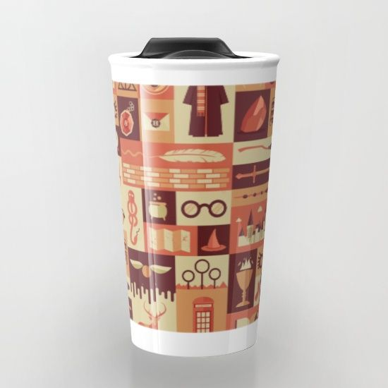 Buy Accio Items Travel Mug by Risa Rodil. Worldwide shipping available at Society6.com. Just one of millions of high quality products available.
