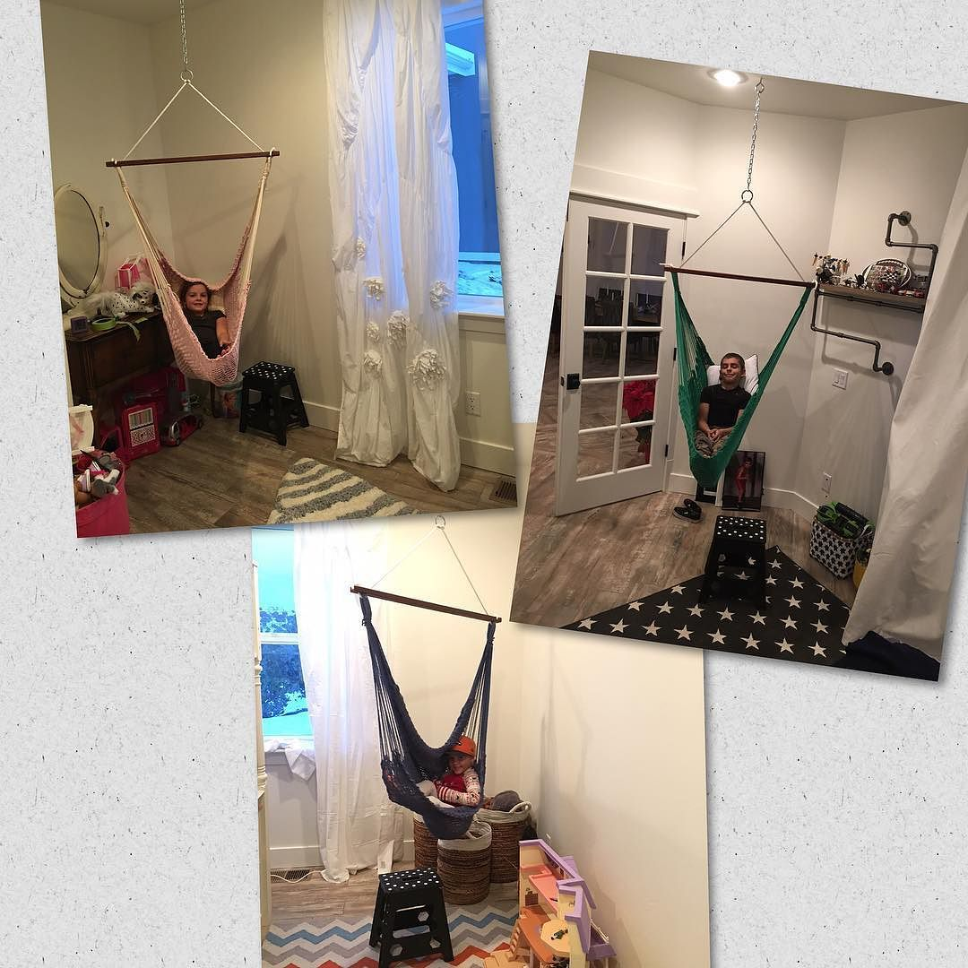 Because every kid needs a hammock in their bedroom!  #likeapirate #peterpan #hammocklife by @drswendell