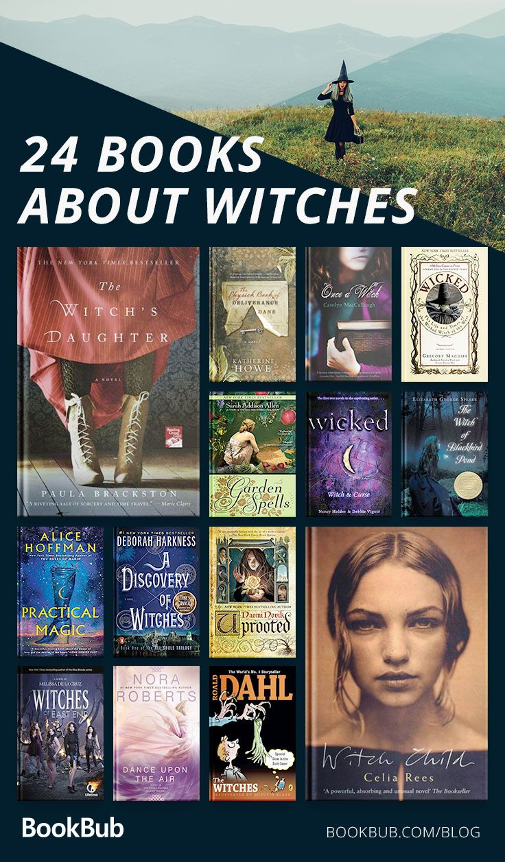 24 of the Best Books About Witches #bookstoread