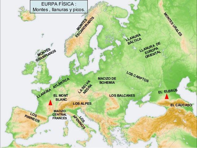 MONTES EUROPA  Busca de Google  MAPAS  Pinterest  Searching