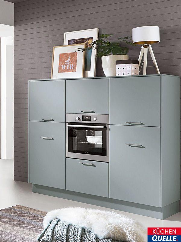 Der Küchenschrank unserer Norina 3317 Aqua passt wunderbar zu einem ...