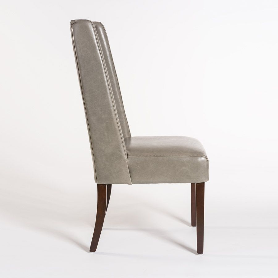 alder-tweed-tribeca-chair-grayleather-side (With images ...
