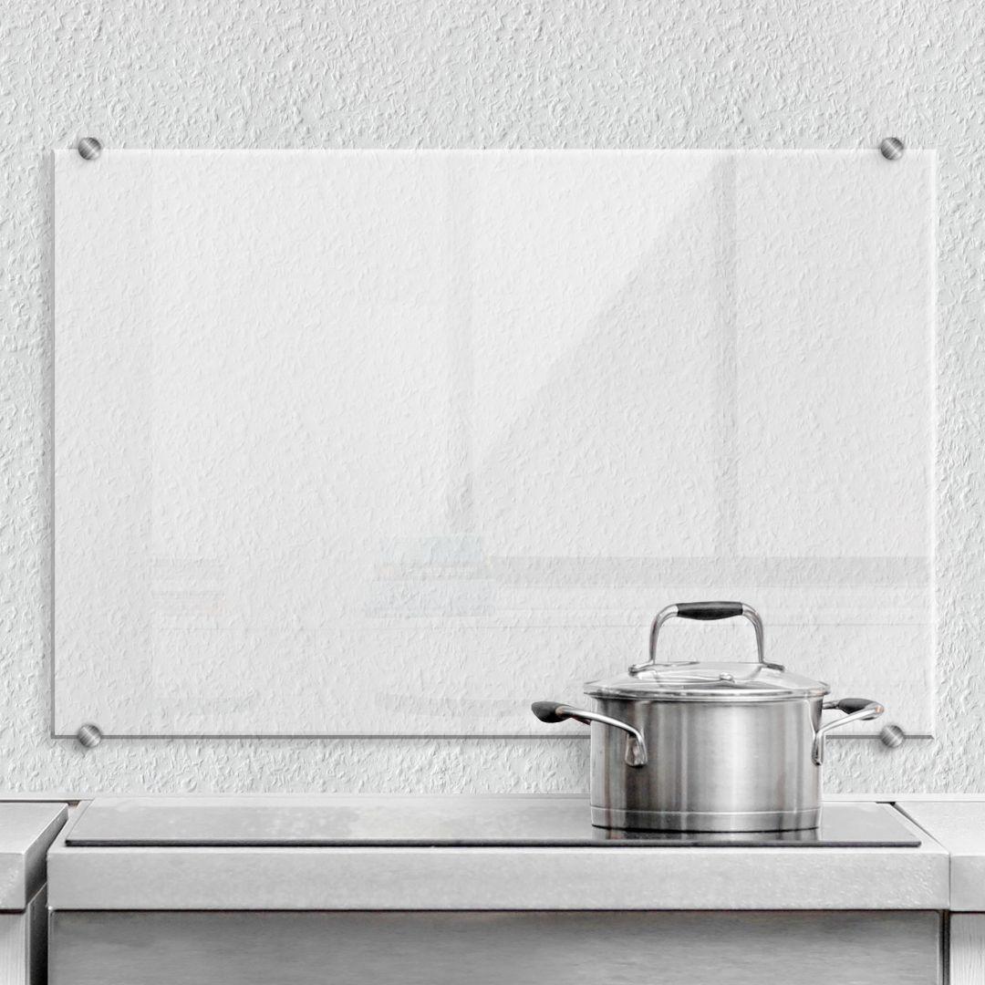 Spritzschutz transparent, Spritzschutz für die Küche